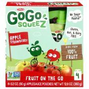 GoGo SqueeZ Apple Strawberry Applesauce On the Go