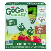 GoGo SqueeZ Apple Apple Applesauce On the Go