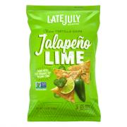 Late July Jalapeno Lime Clasico Tortilla Chips