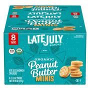 Late July Organic Peanut Butter Sandwich Crackers