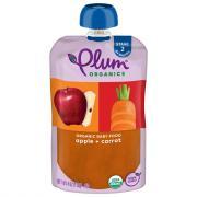 Plum Organics Apple & Carrot Baby Food