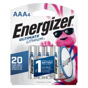 Energizer E2 Lithium AAA Batteries