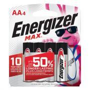 Energizer AA Batteries E91BP-4 Max AA