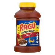 Ragu Old World Style Meat Spaghetti Sauce