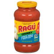 Ragu Garlic & Onion Garden Spaghetti Sauce