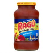 Ragu Old World Style Marinara Pasta Sauce