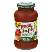 Ragu Simply Chunky Garden Vegetable Pasta Sauce