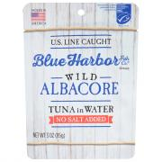 Blue Harbor Wild Albacore Tuna in Water No Salt Added