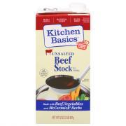 Kitchen Basics Unsalted Beef Stock