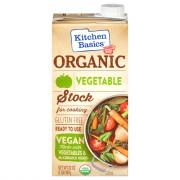 Kitchen Basics Organic Vegetable Vegan Stock