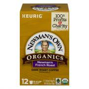 Newman's Own Organics French Roast K-Cups
