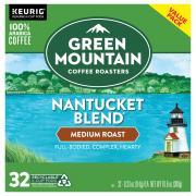 Green Mountain Coffee Nantucket Blend K-Cups Value Pack