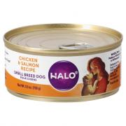 Halo Grain Free Small Breed Chicken & Salmon Wet Dog Food