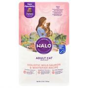 Halo Adult Cat Holistic Wild Salmon & White Fish Recipe