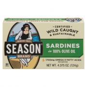 Season Sardines in Pure Olive Oil