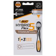 BIC Hybrid Flex5 Disposable Razors