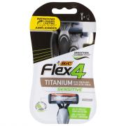 BIC Flex 4 Men's 4-Blade Disposable Razors