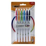 Bic Crystal Up Medium Assorted Ink Colors