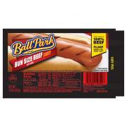 Ball Park Bun Size Beef Franks
