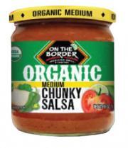 On The Border Organic Medium Chunky Salsa