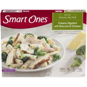 Smart Ones Rigatoni w/Cream Sauce Broccoli & Cheese
