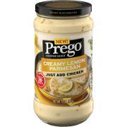 Prego Creamy Lemon Parmesan Cooking Sauce