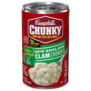 Campbell's Chunky Healthy Request New England Clam Chowder