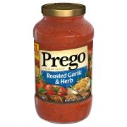 Prego Roasted Garlic and Herb Spaghetti Sauce