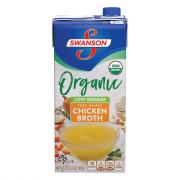 Swanson Organic Low Sodium Free-Range Chicken Broth