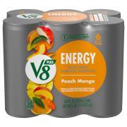Campbell's V8 V-Fusion +Energy Peach Mango