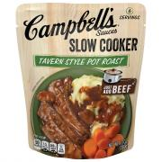Campbell's Slow Cooker Pot Roast with Mushroom Garlic