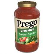 Prego Chunky Garden Combo Italian Sauce