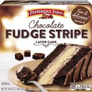 Pepperidge Farm Chocolate Stripe Layer Cake