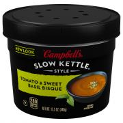 Campbell's Slow Kettle Tomato & Sweet Basil Bisque