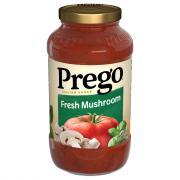 Prego Mushroom Spaghetti Sauce