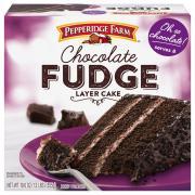 Pepperidge Farm Chocolate Fudge Layer Cake