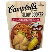 Campbell's Slow Cooker Apple Bourbon BBQ