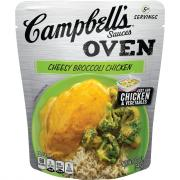 Campbell's Oven Sauces Cheesy Broccoli Chicken