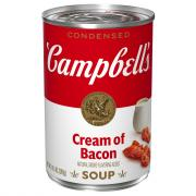 Campbell's Condensed Cream of Bacon Soup
