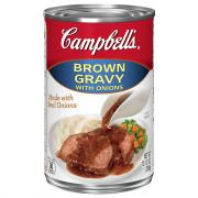 Campbell's Brown Gravy with Onion