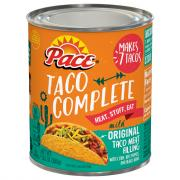 Pace Taco Complete Original Taco Meat Filling
