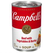 Campbell's Beef Vegetable Barley Soup