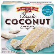 Pepperidge Farm Coconut Layer Cake