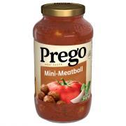 Prego Mini Meatball Meat Sauce