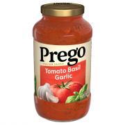 Prego Tomato, Basil, and Garlic Spaghetti Sauce