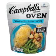 Campbell's Oven Sauces Creamy Garlic Butter Chicken