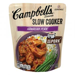 Campbell's Slow Cooker Hawaiian Luau With Pineapple