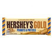 Hershey's Gold Peanuts & Pretzels Candy Bar