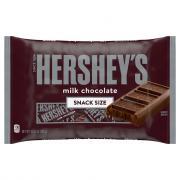 Hershey's Milk Chocolate Snack Size Bag