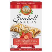 Sunbelt Strawberry Cereal Bars